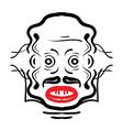 Aztec face vector