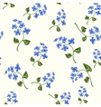 Beautiful bright floral seamless pattern vector