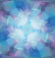 Abstract geometric background with triangular poly vector
