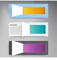 Background squares set web design vector