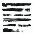 Grunge brushes set 3 vector