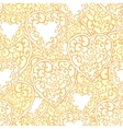 Seamless pattern with ornamental hand drawn doodle vector