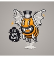Cartoon monster ill bee bat vector