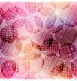 Pink circles vector