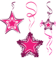 Star decoration abstract star vector