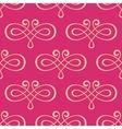 Seamless curly swirl antique motif vector