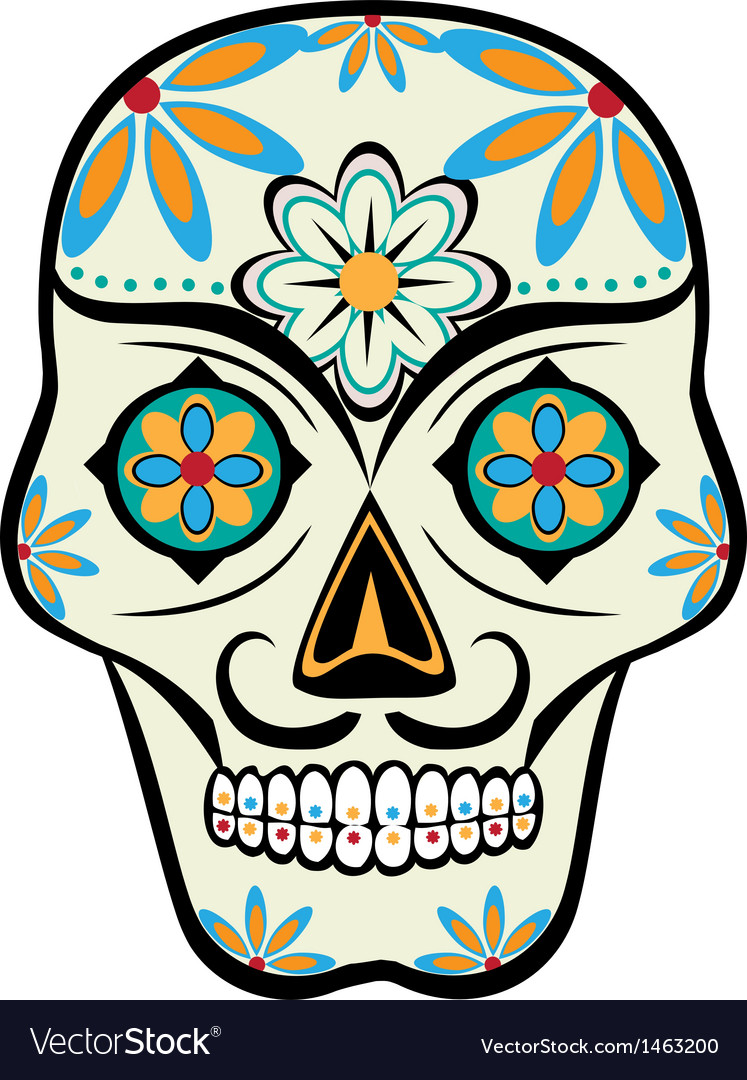 Calavera vector | Price: 1 Credit (USD $1)