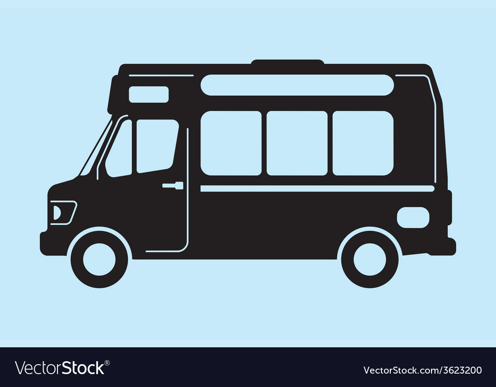 Food truck graphic vector | Price: 1 Credit (USD $1)