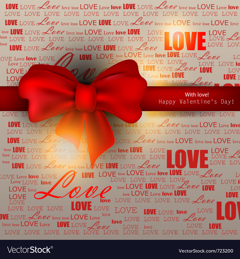 Gift card valentines day background vector   Price: 1 Credit (USD $1)