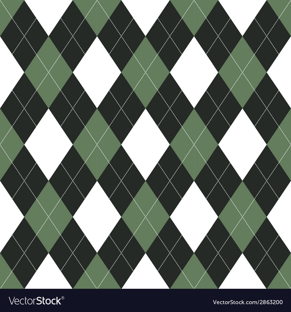 Seamless argyle pattern vector | Price: 1 Credit (USD $1)