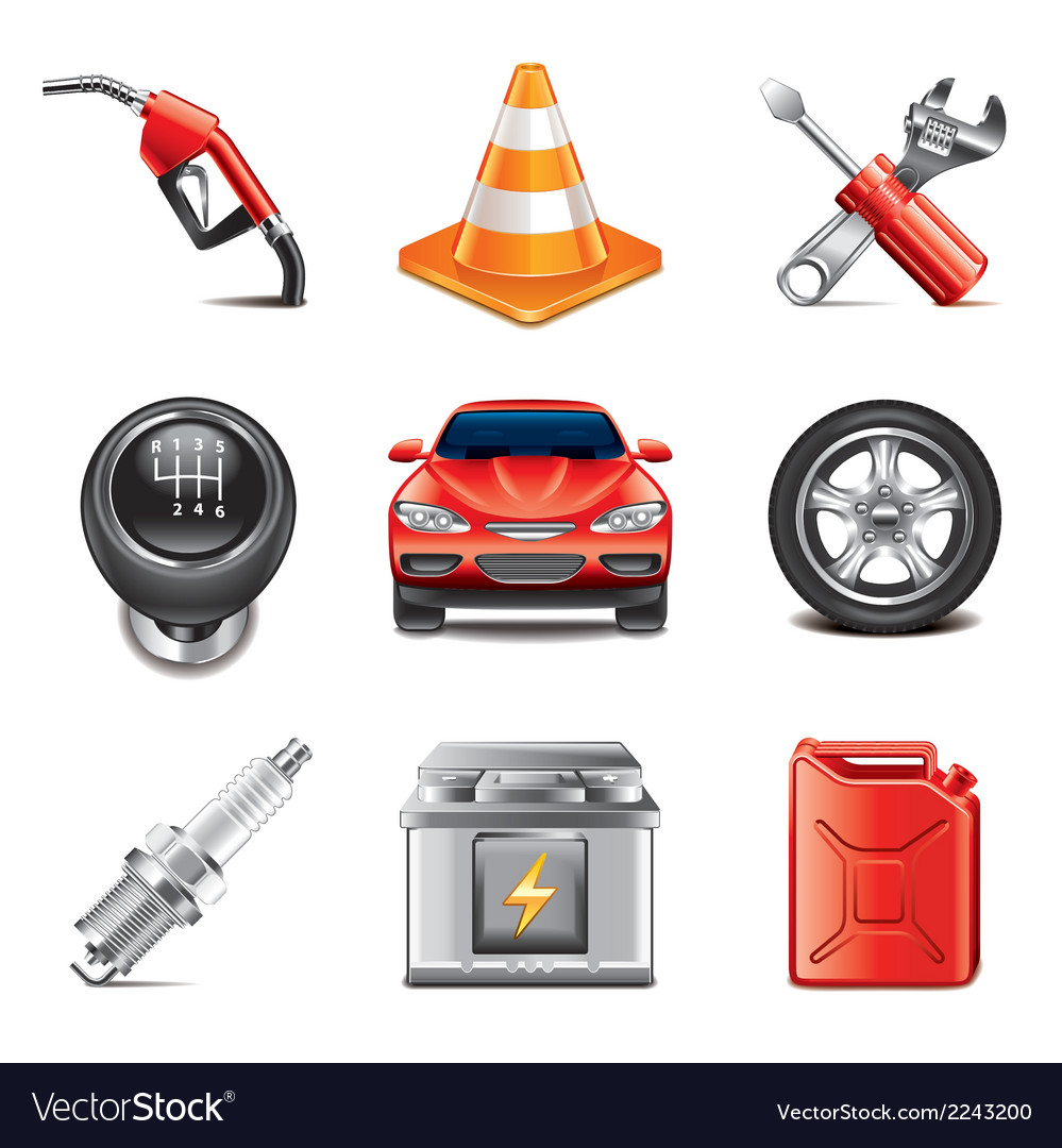 Set car vector | Price: 1 Credit (USD $1)