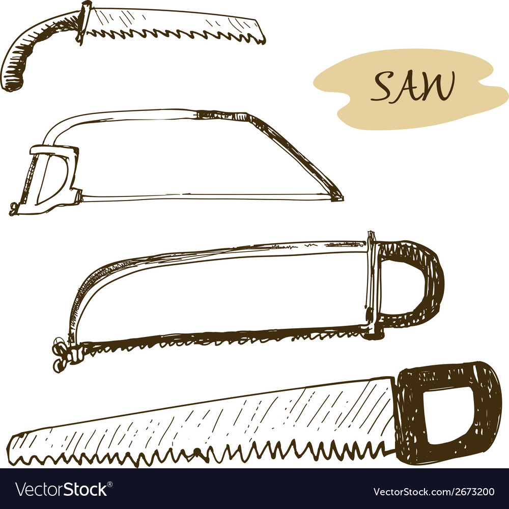 Set of saws vector | Price: 1 Credit (USD $1)