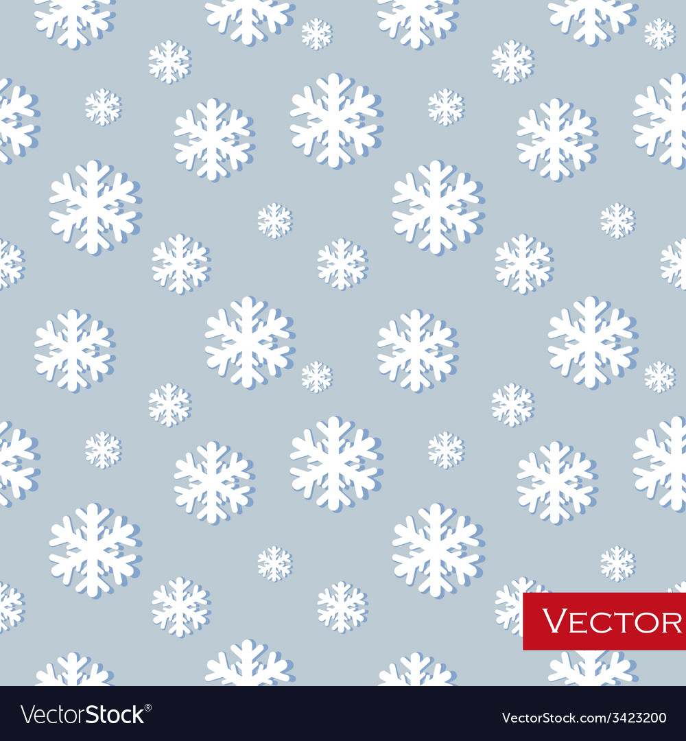 Winter background with glowing snowflakesgreat vector | Price: 1 Credit (USD $1)