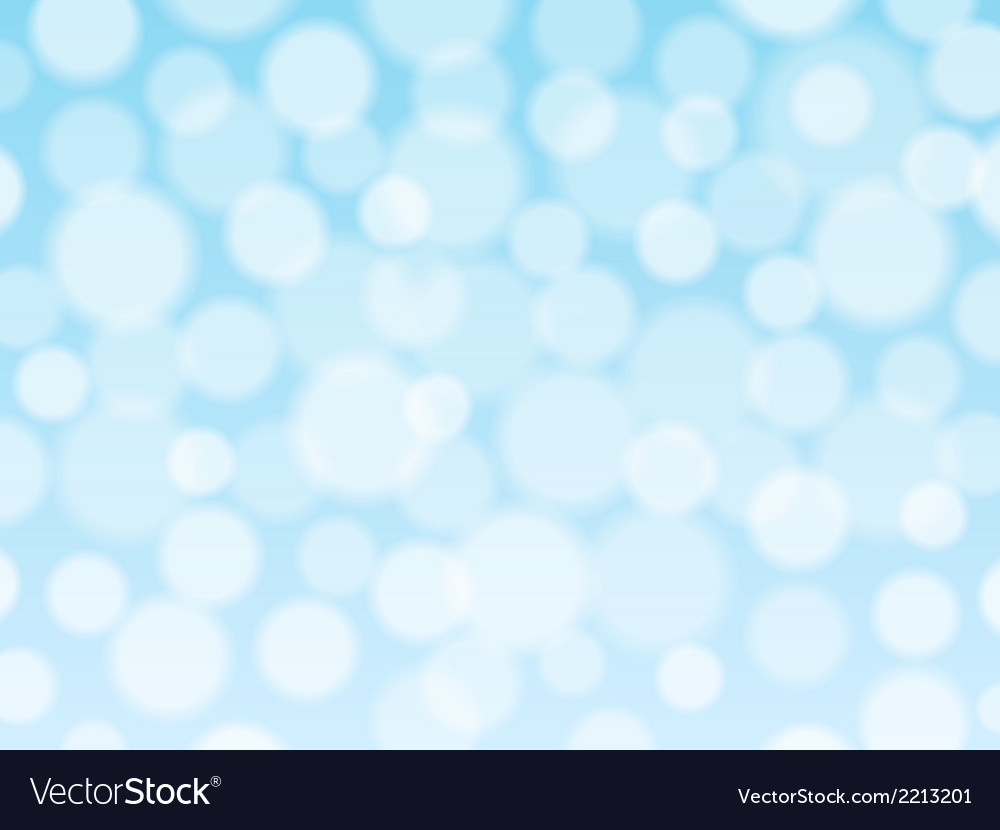 Blue background with bokeh lights vector | Price: 1 Credit (USD $1)