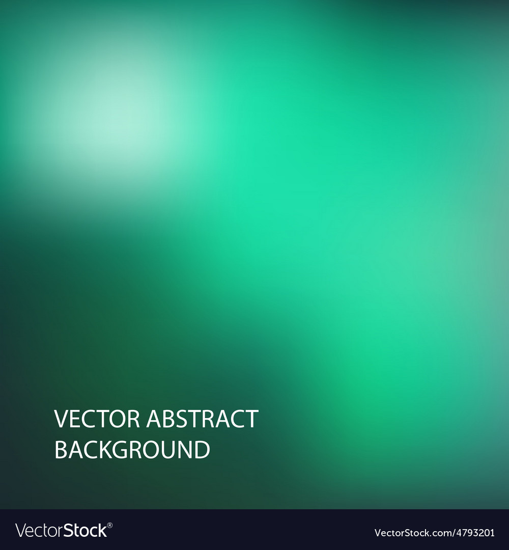 Green blur background vector | Price: 1 Credit (USD $1)