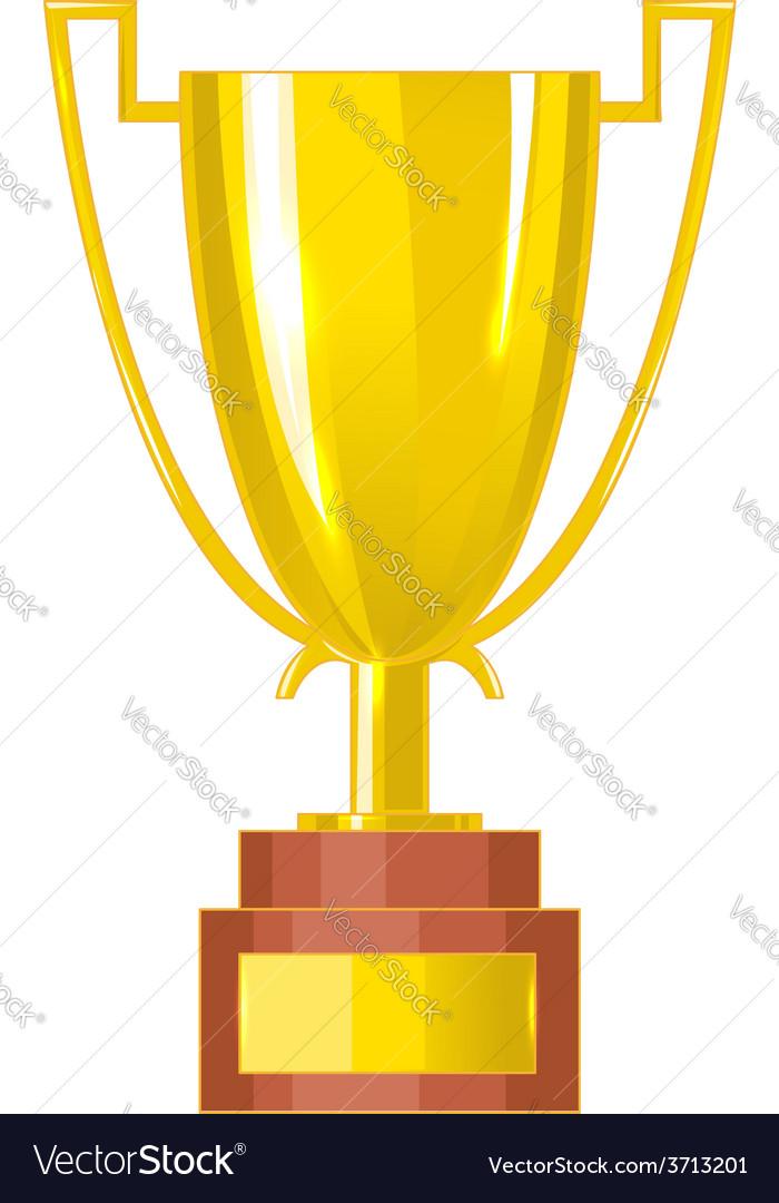 Winner cup eps10 vector