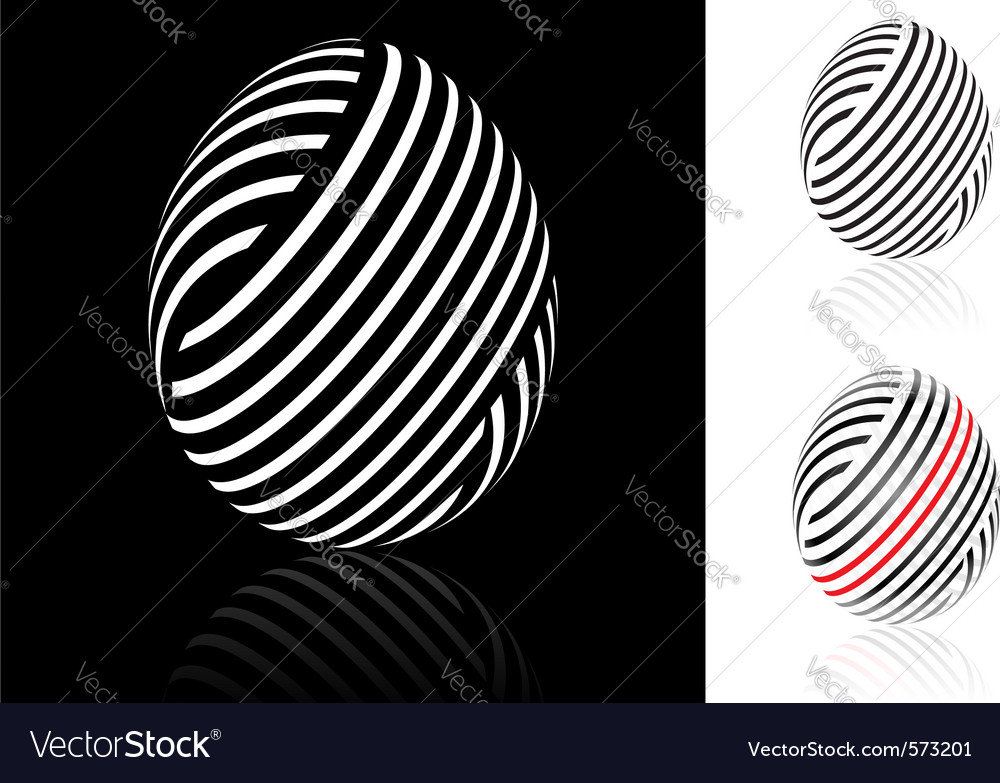 Woven easter egg vector | Price: 1 Credit (USD $1)