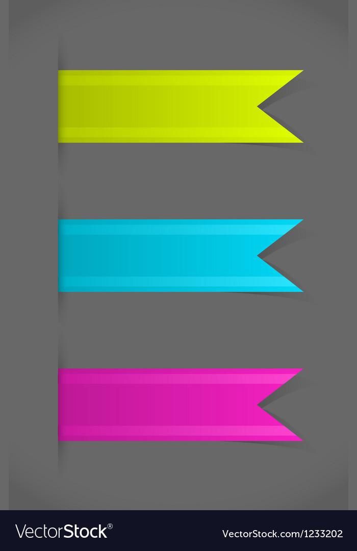 Bookmarks vector | Price: 1 Credit (USD $1)