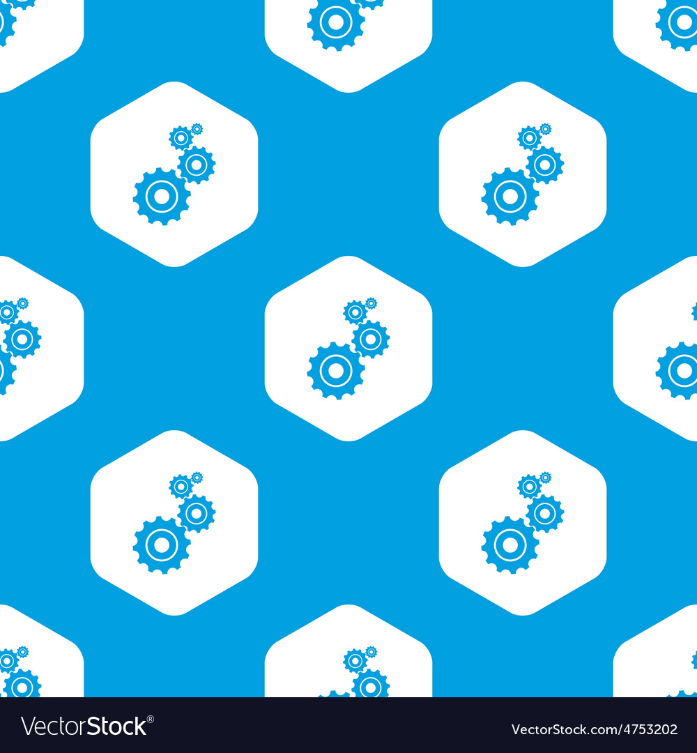 Geras hexagon pattern vector | Price: 1 Credit (USD $1)