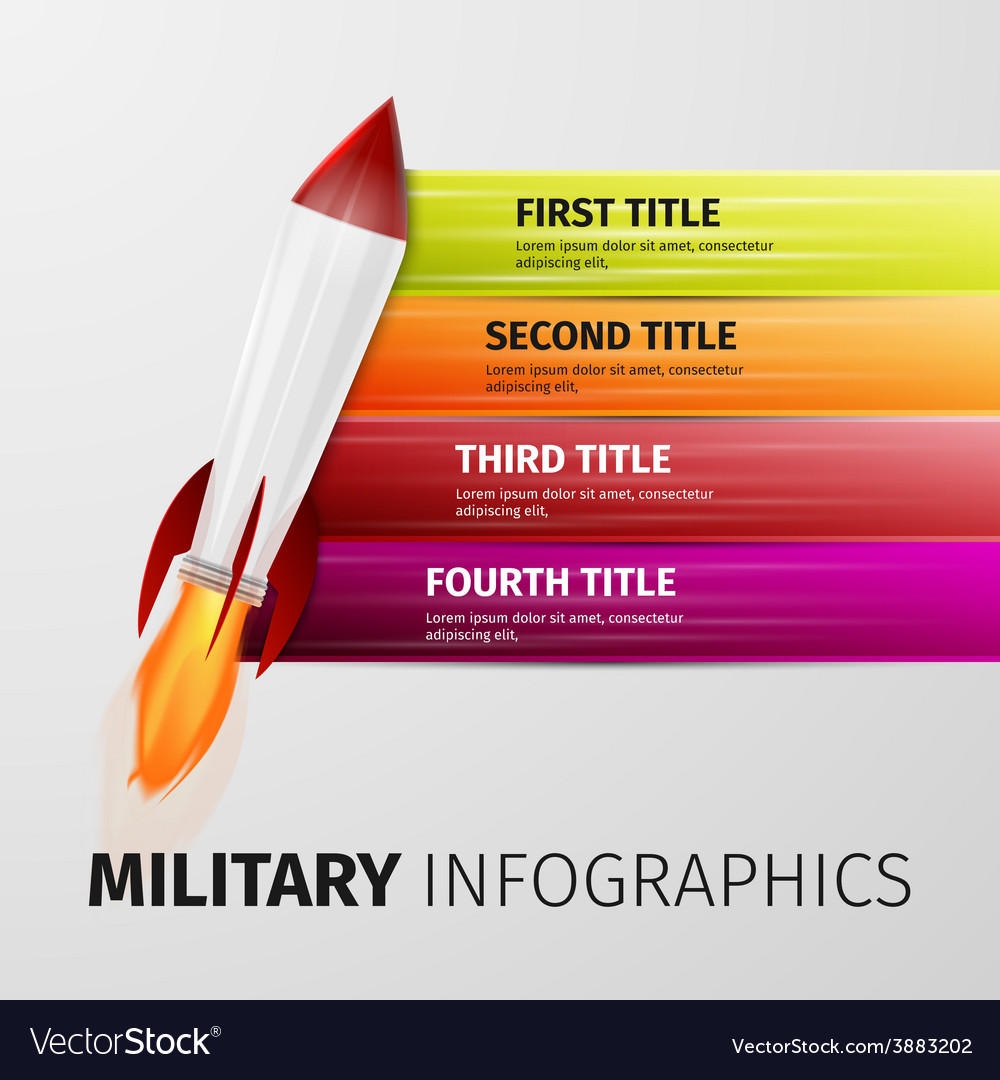 Military infographics vector | Price: 1 Credit (USD $1)