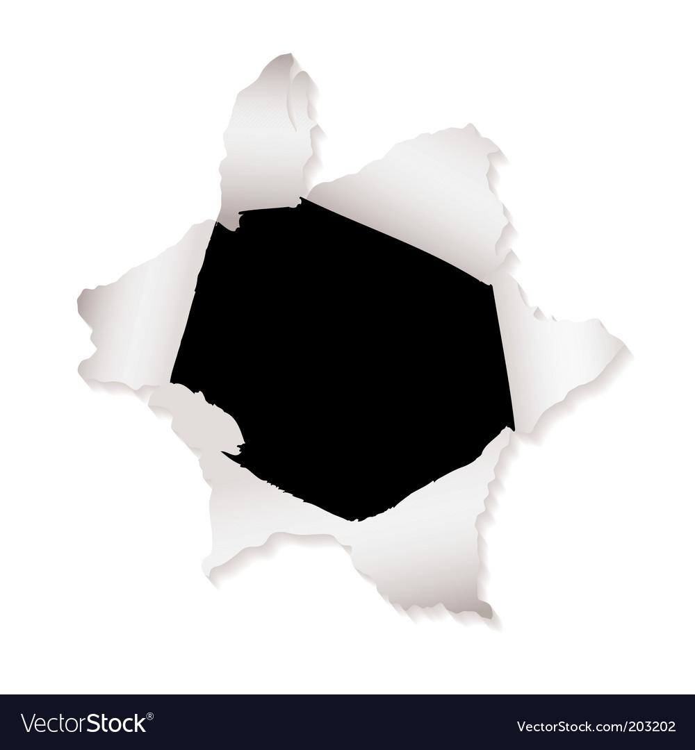 Torn paper design elements vector | Price: 1 Credit (USD $1)