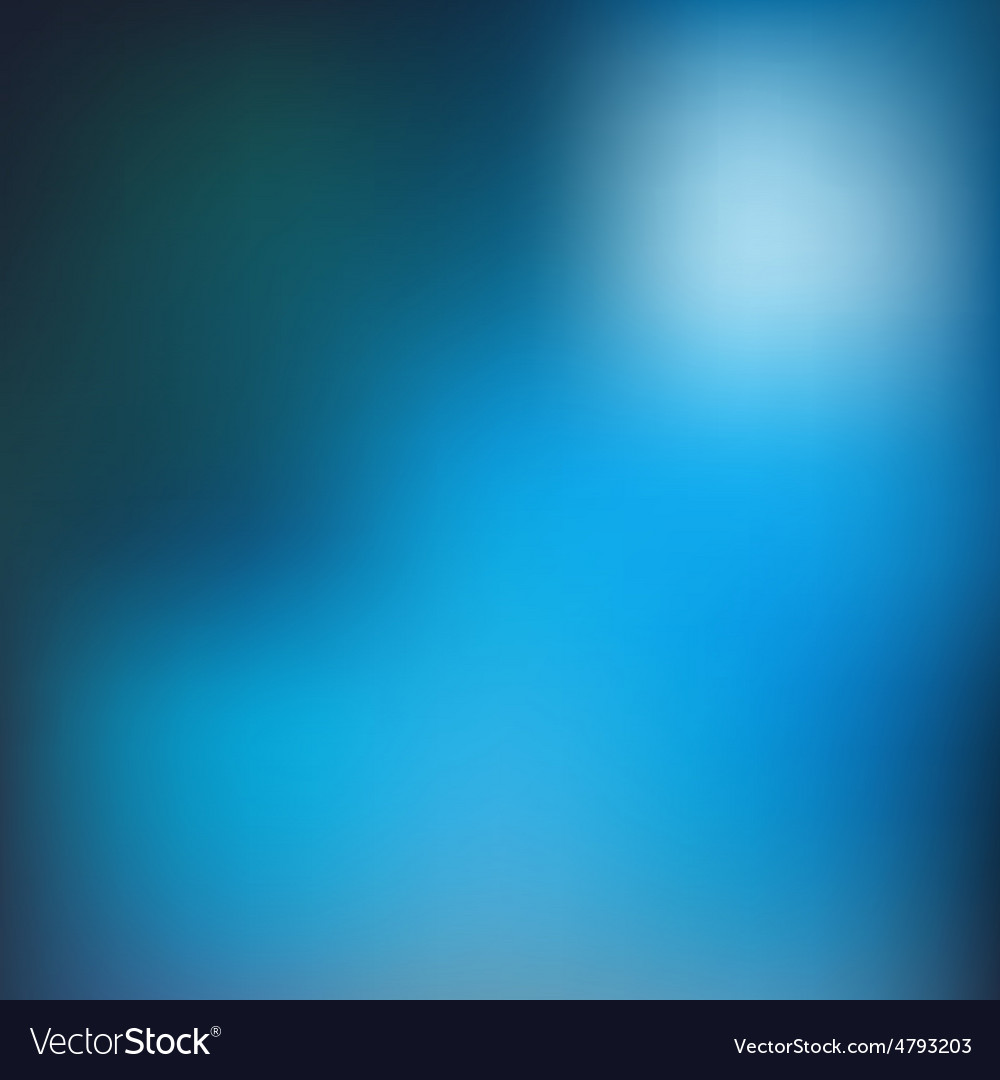 Blue blur background vector | Price: 1 Credit (USD $1)