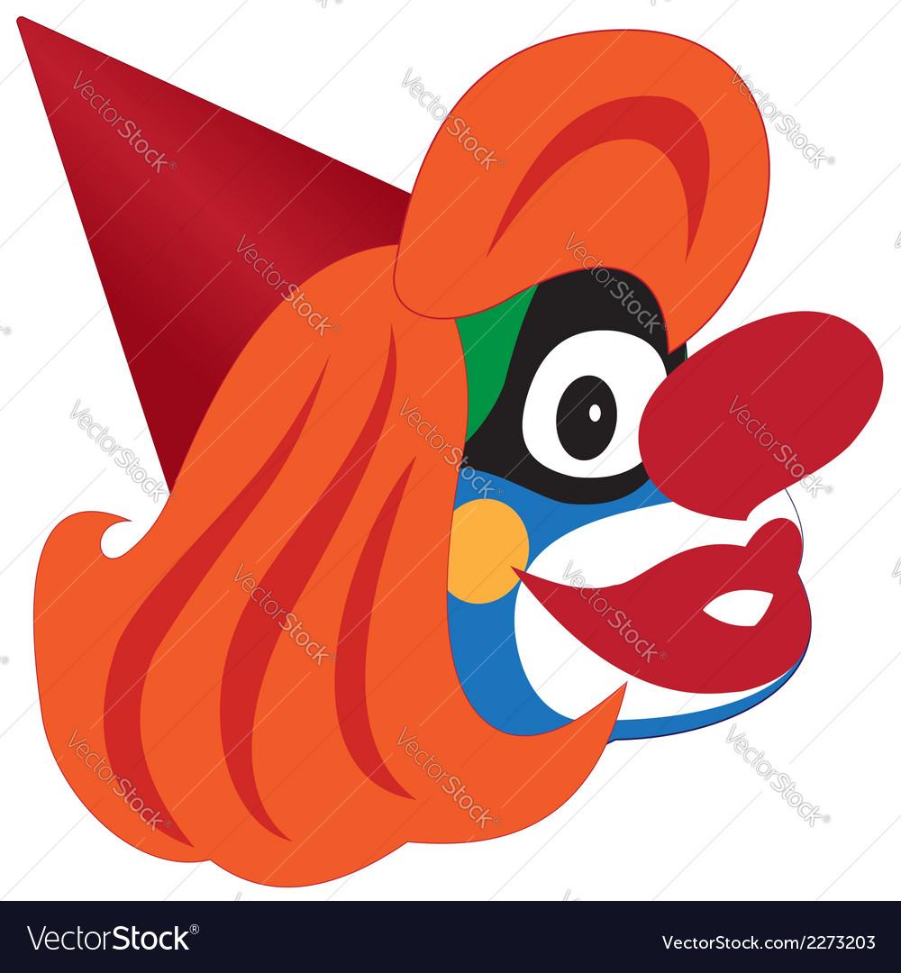 Clown head vector | Price: 1 Credit (USD $1)