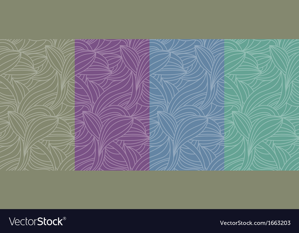 Color seamless pattern background vector | Price: 1 Credit (USD $1)