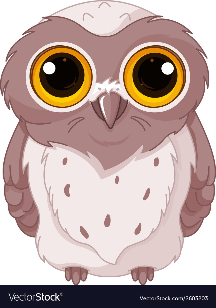 Cute owlet vector | Price: 1 Credit (USD $1)