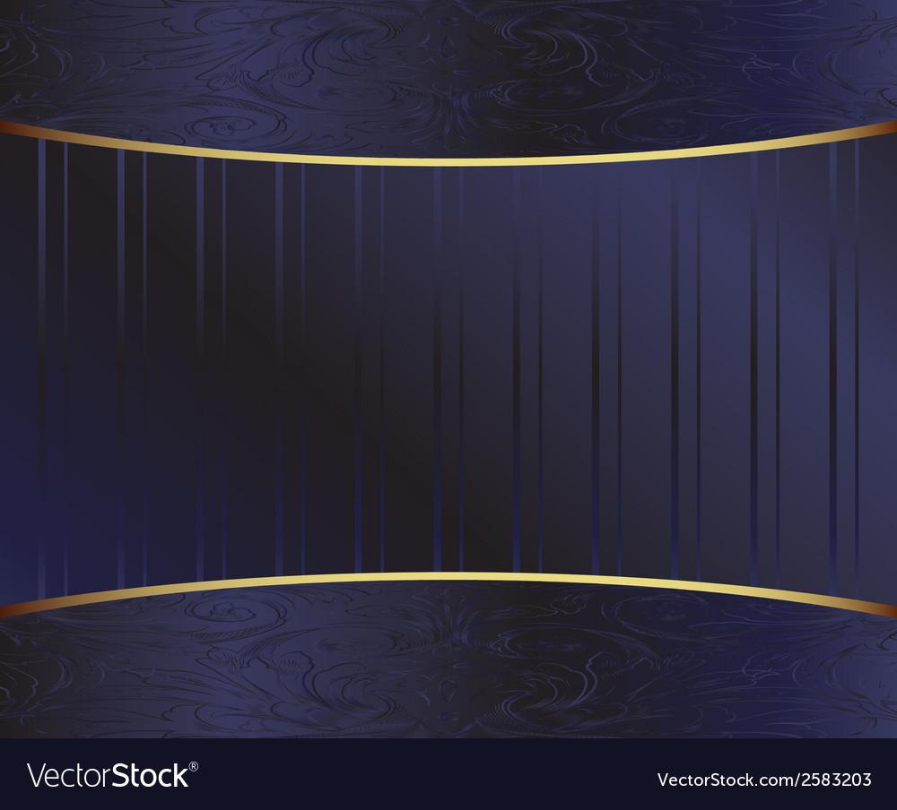Dark backround elements ornaments vector | Price: 1 Credit (USD $1)