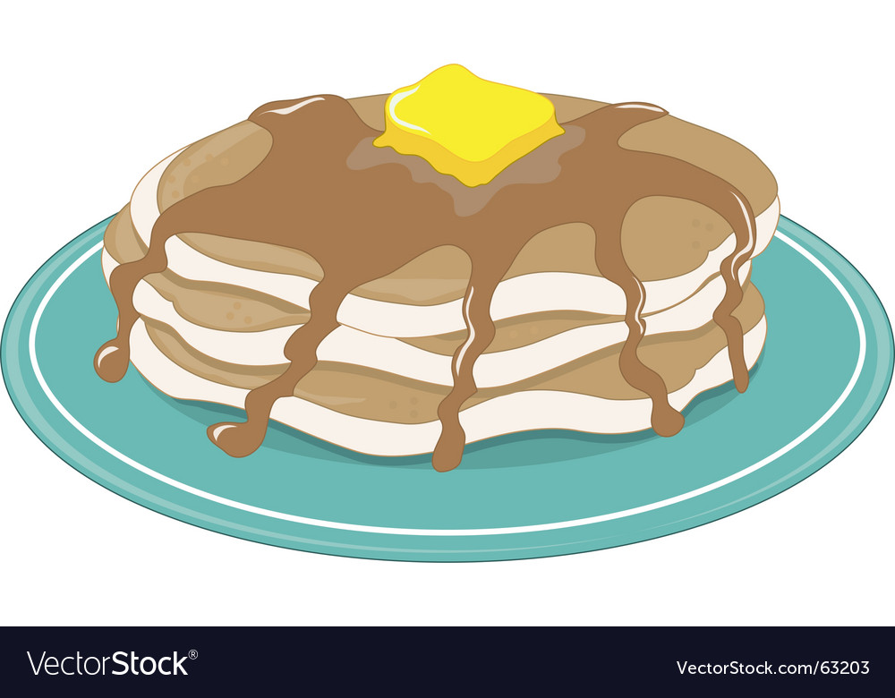 Pancakes vector | Price: 1 Credit (USD $1)
