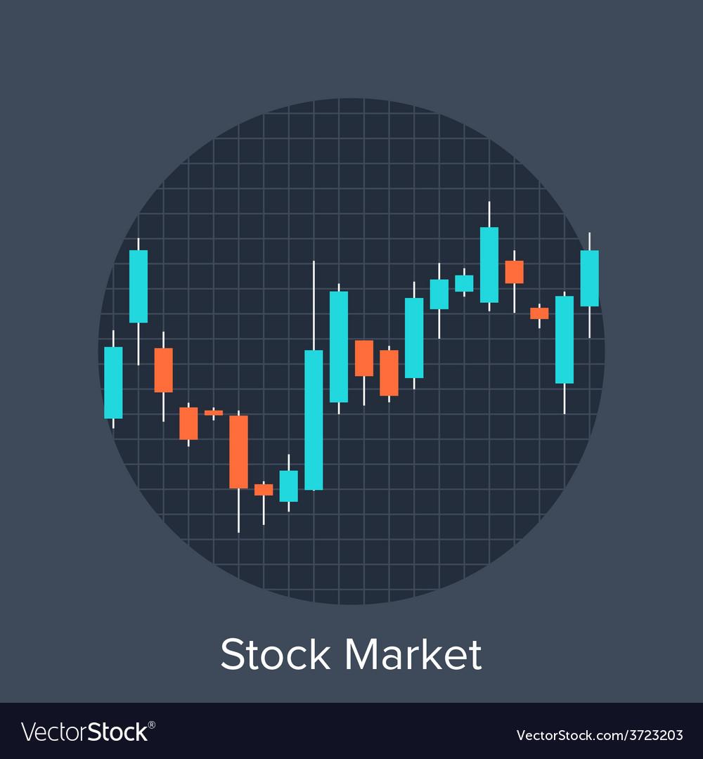 Stock market vector | Price: 1 Credit (USD $1)