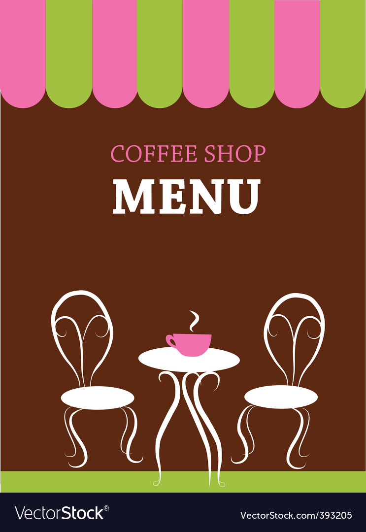 Cafe menu vector | Price: 1 Credit (USD $1)