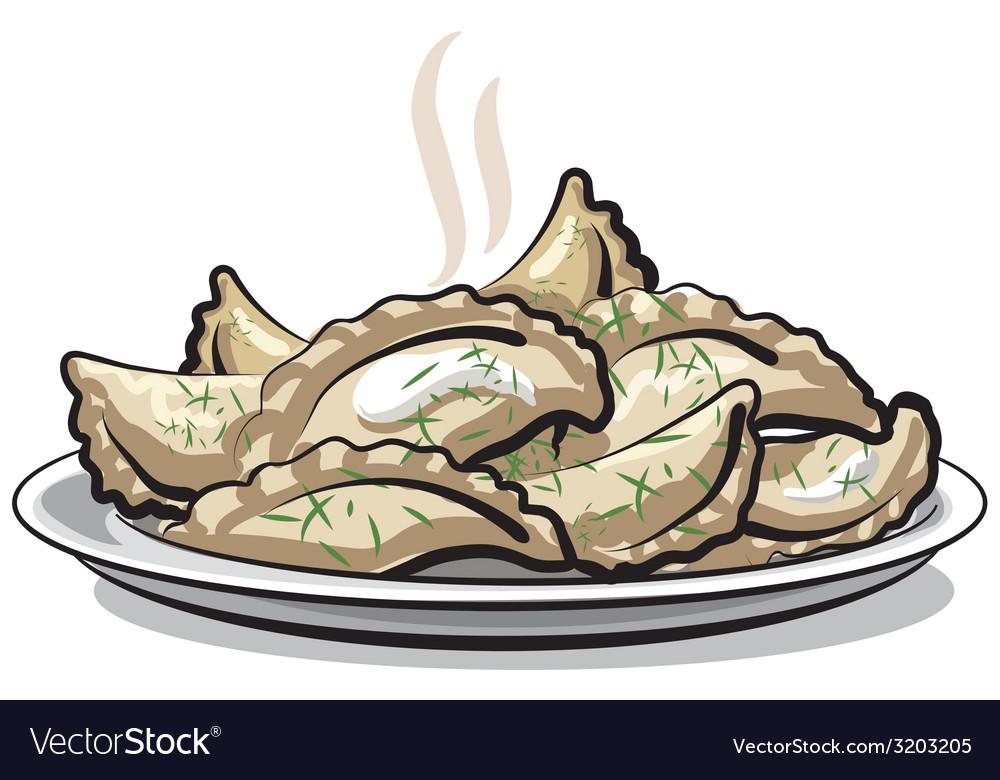 Dumplings vector | Price: 1 Credit (USD $1)