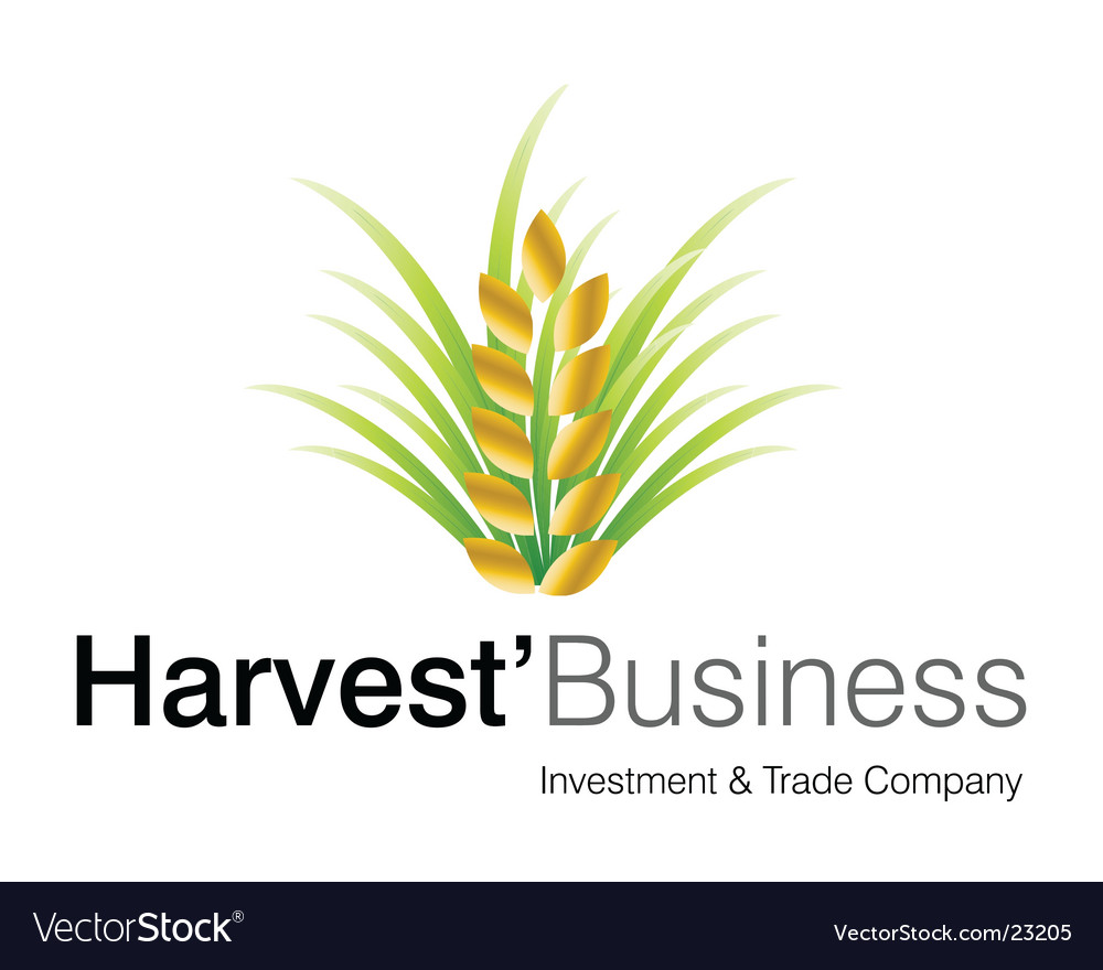 Harvest business logo vector | Price: 1 Credit (USD $1)