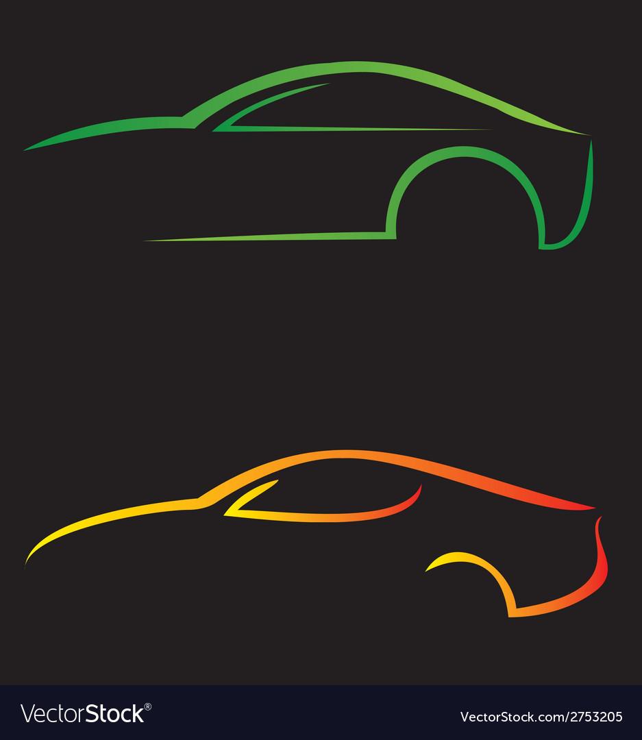 Modren car logo vector | Price: 1 Credit (USD $1)