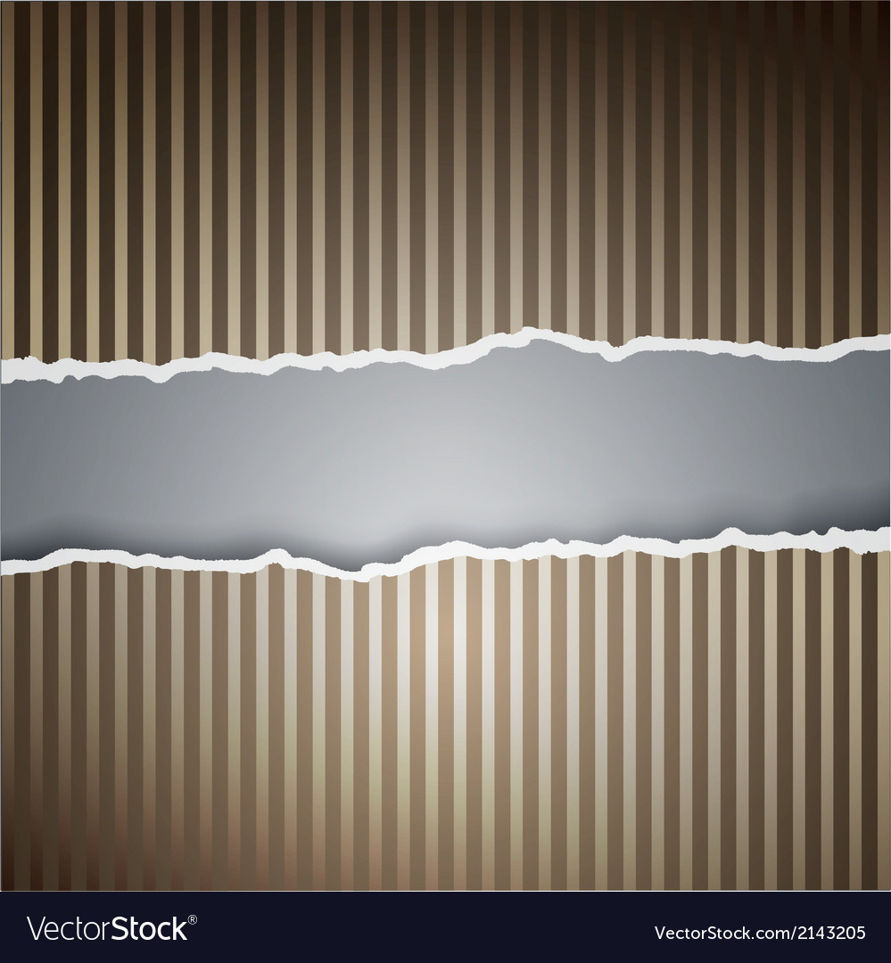 Ragged paper with a pattern of lines vector | Price: 1 Credit (USD $1)