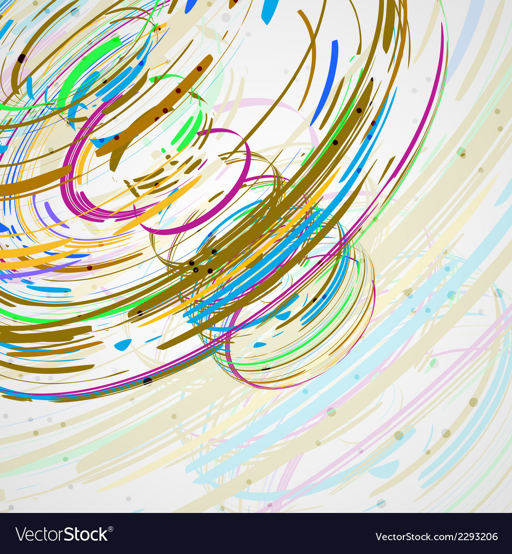 Colorful elements background vector | Price: 1 Credit (USD $1)