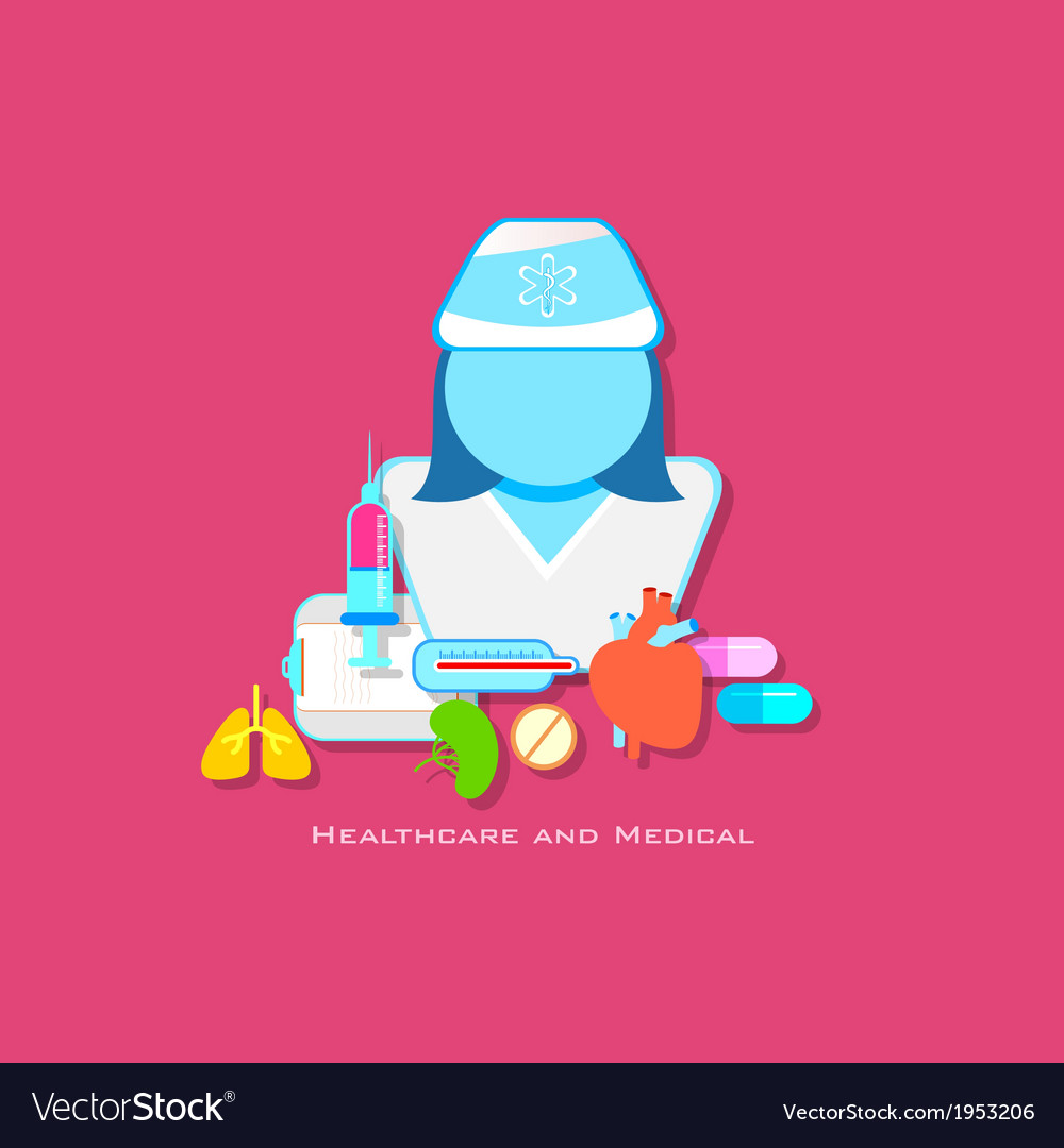 Healthcare and medical concept vector | Price: 1 Credit (USD $1)