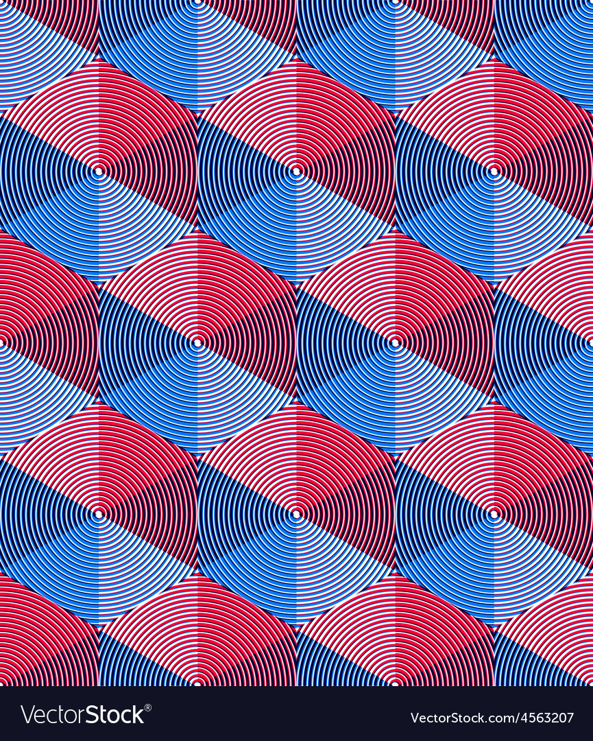Regular colorful endless pattern with intertwine vector | Price: 1 Credit (USD $1)