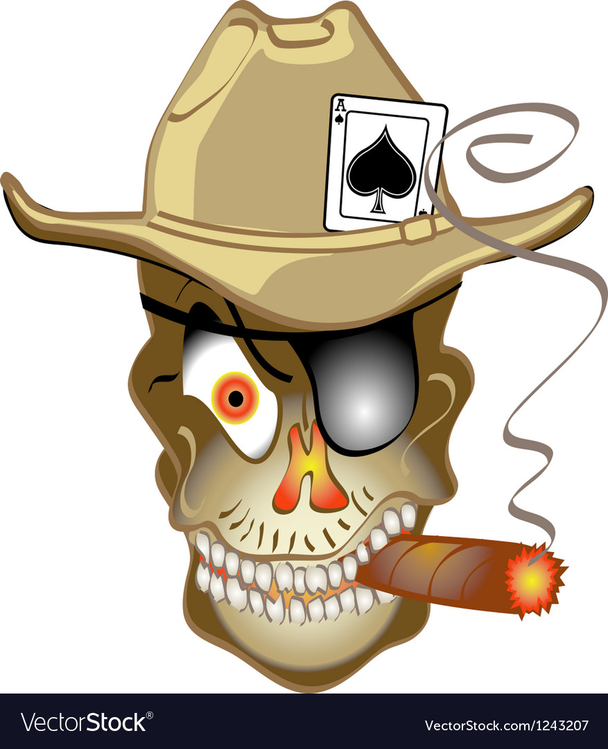 Skull bandit vector | Price: 1 Credit (USD $1)