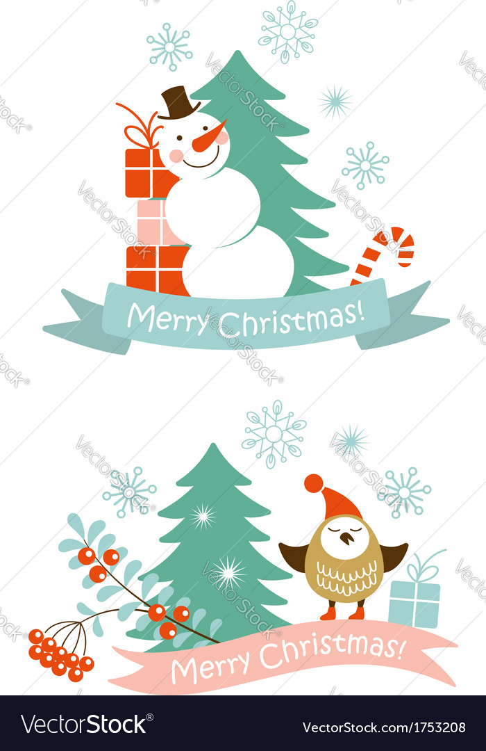 Christmas graphic elements vector | Price:  Credit (USD $)
