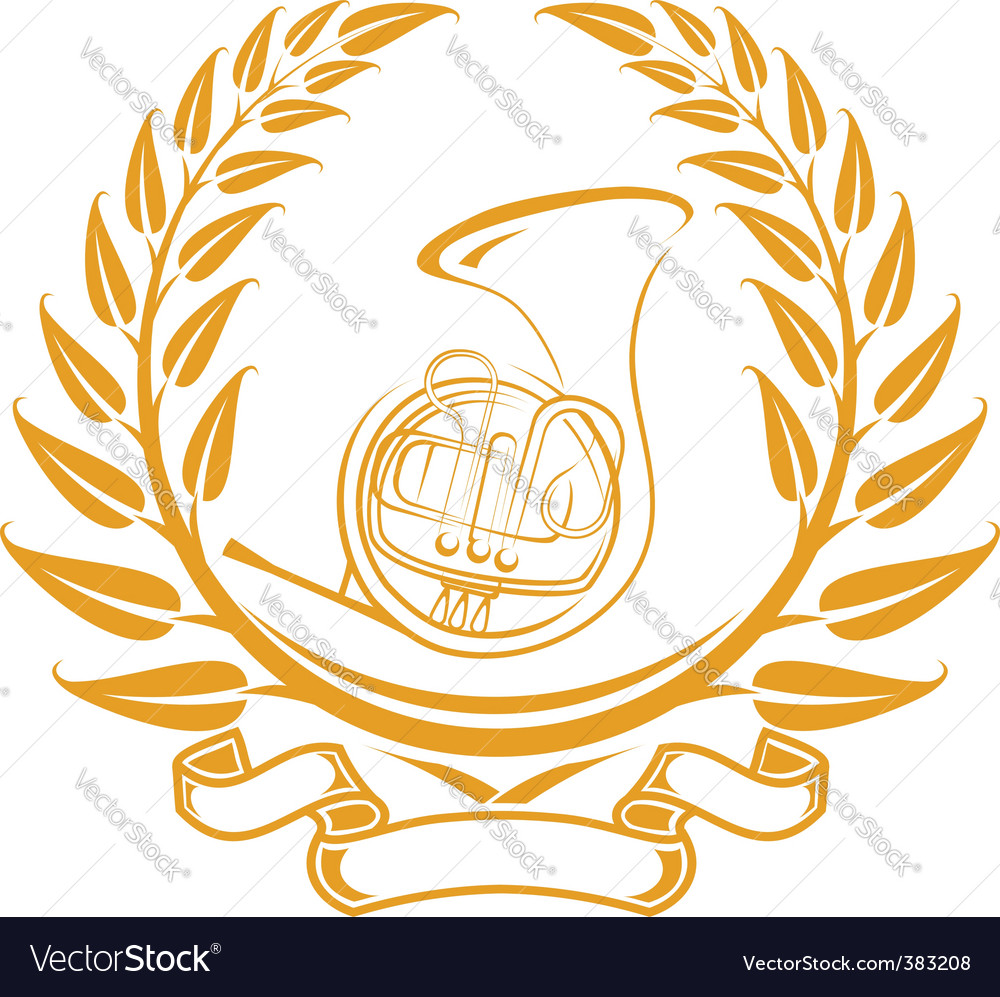Trombone symbol vector | Price: 1 Credit (USD $1)