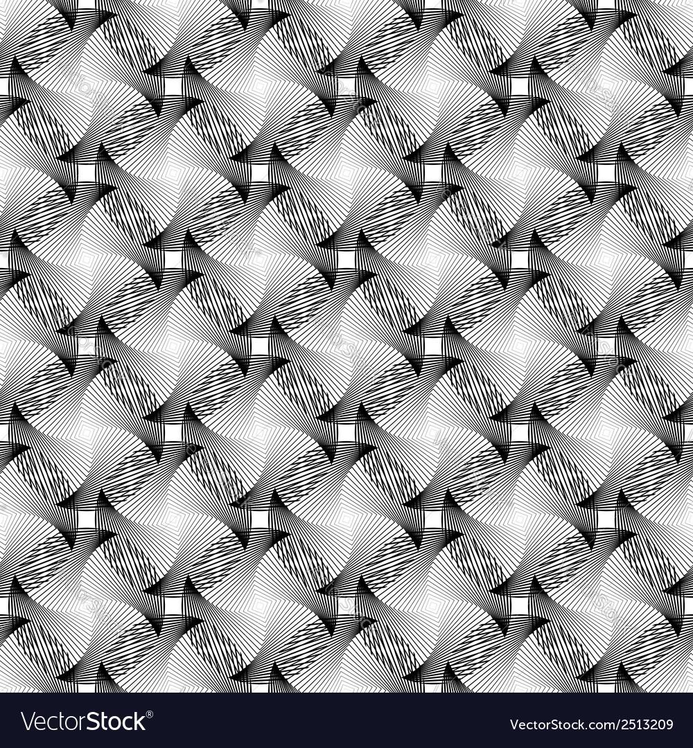 Design seamless monochrome grid decorative pattern vector   Price: 1 Credit (USD $1)