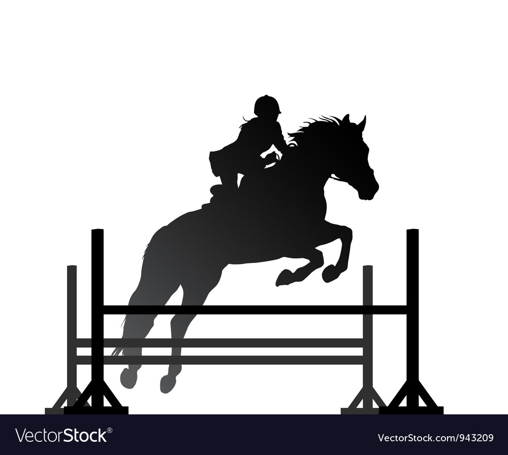 Equestrian sport vector | Price: 1 Credit (USD $1)