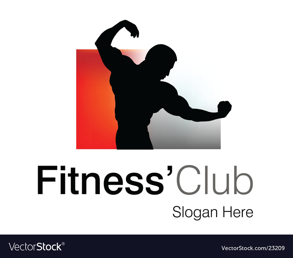 Fitness club logo vector | Price: 1 Credit (USD $1)