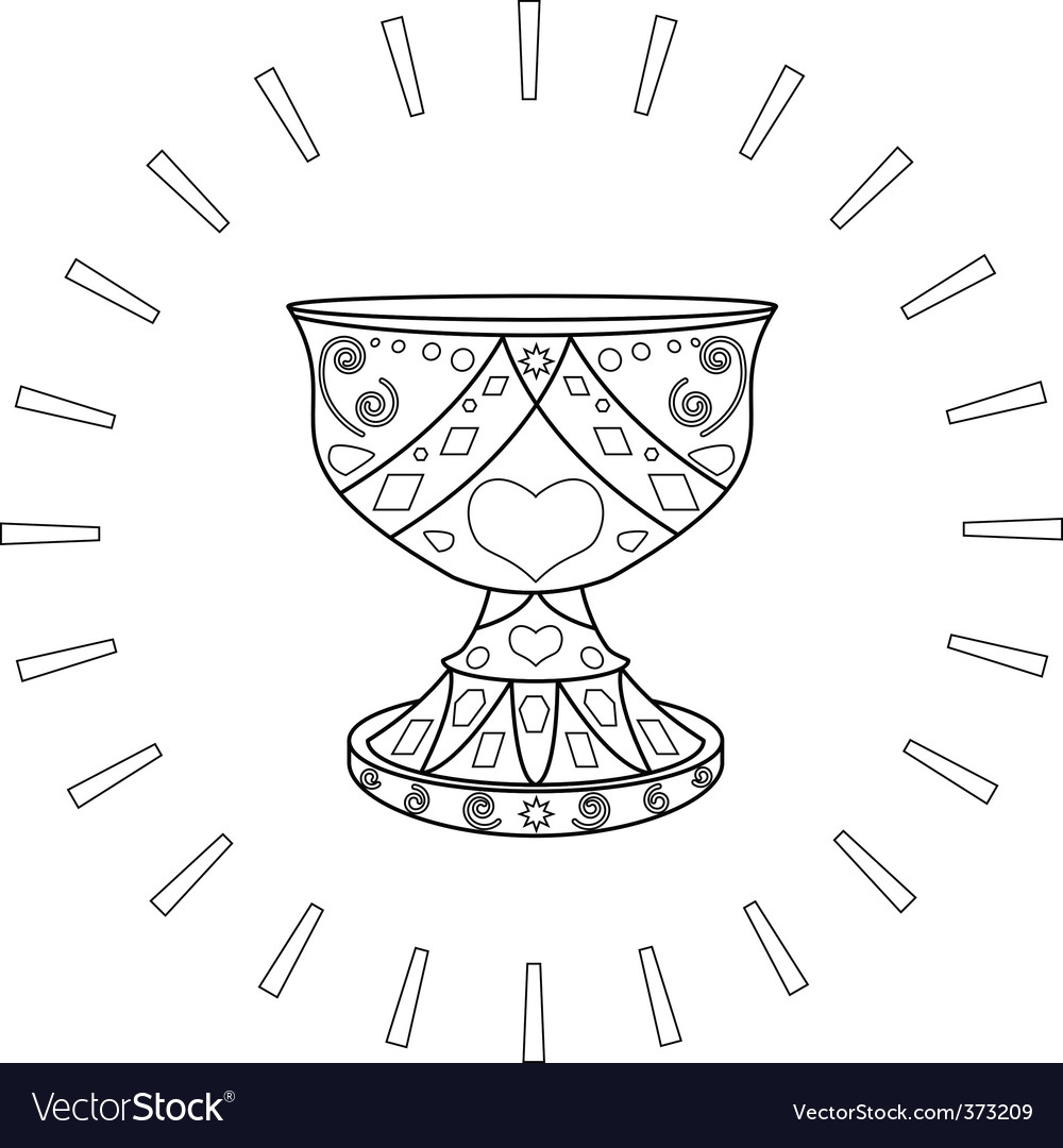 Holy grail vector | Price: 1 Credit (USD $1)