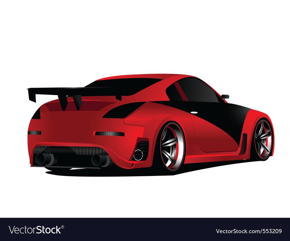 Japanese street racer vector | Price: 3 Credit (USD $3)