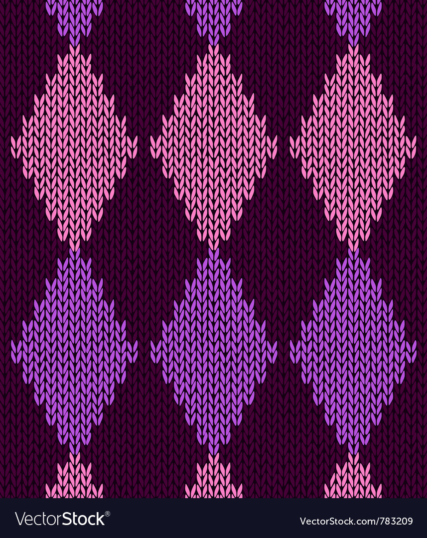 Knitted pattern vector | Price: 1 Credit (USD $1)