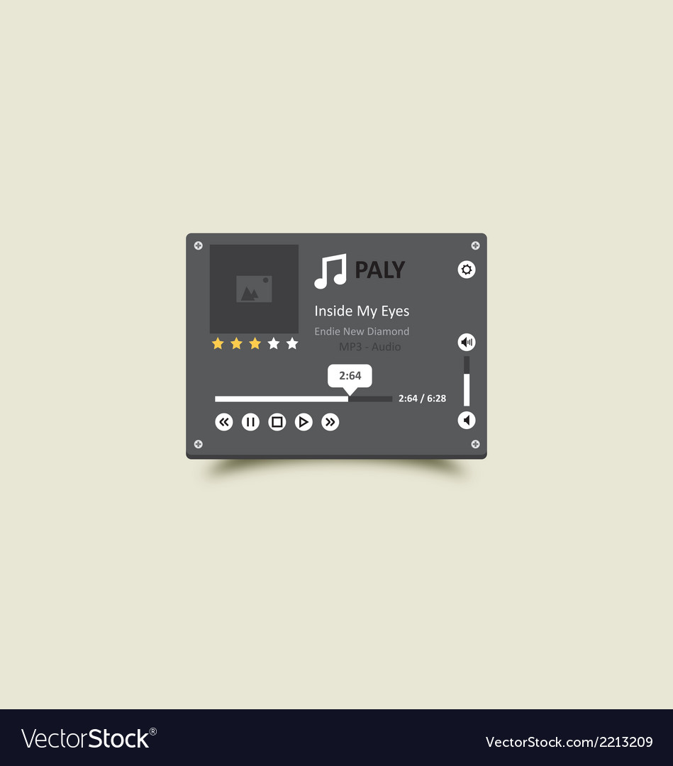 Music player 17 vector | Price: 1 Credit (USD $1)